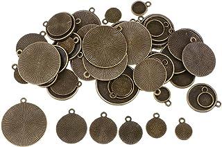 Bronze Antique Mixte SUPVOX 80pcs Pendentifs Breloques Antique Vintage Bijoux Charmes DIY Artisanat