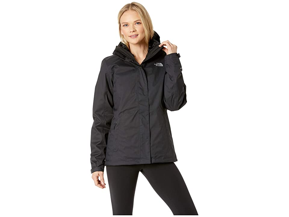The North Face Mossbud Swirl Triclimate(r) Jacket (TNF Black/TNF Black) Women