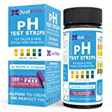 Just Fitter pH Test Strips for Testing Alkaline and Acid Levels in The Body. Track & Monitor Your pH Level Using Saliva and Urine.