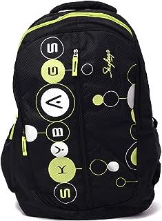 Skybags Polyester Ronan Plus 02 Black Unisex School Bag