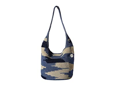 The Sak Nomad 120 Hobo (Blue Multi Nomad) Hobo Handbags
