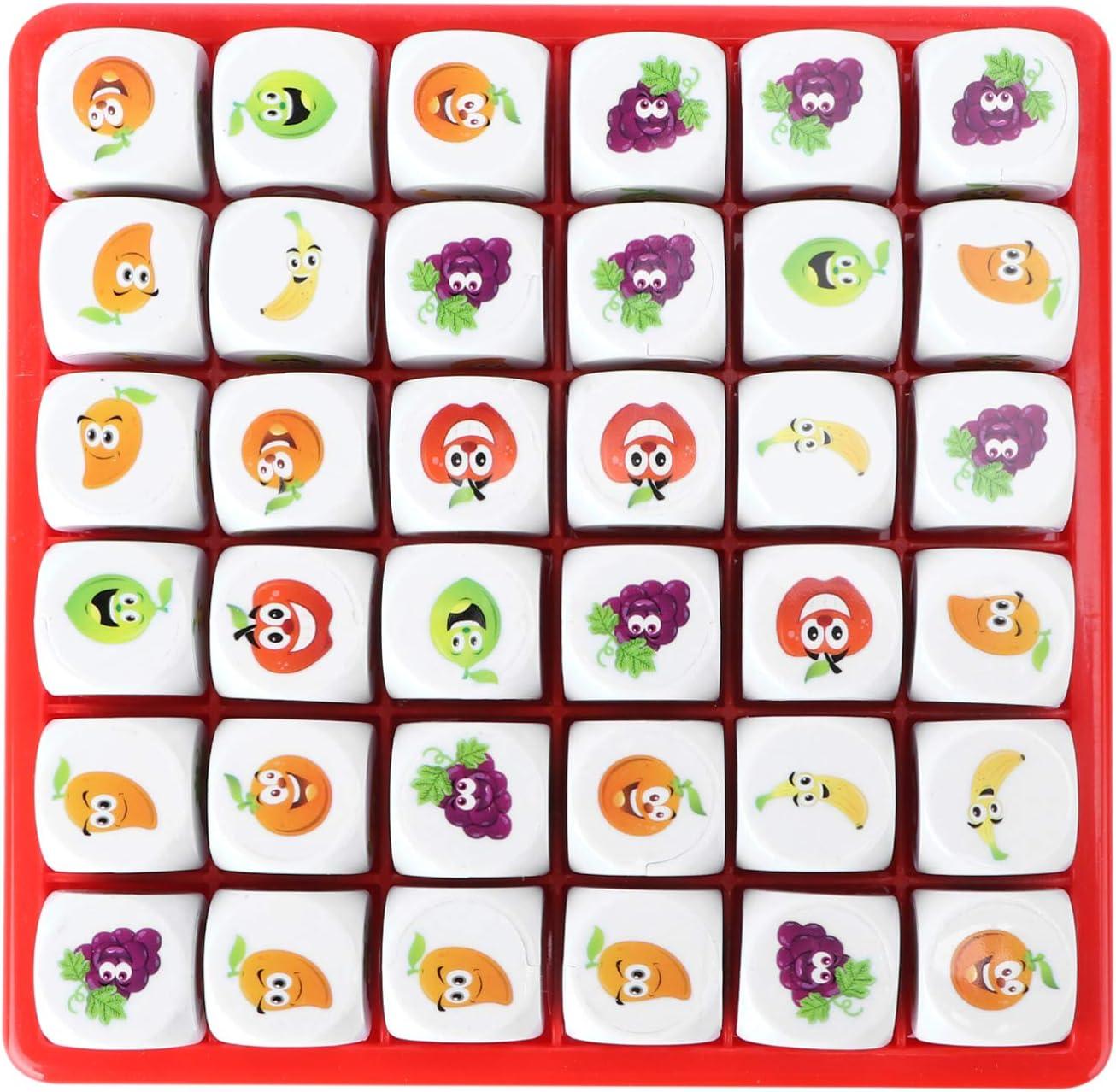 jojofuny Animer Factory outlet and price revision Fruit Sudoku Puzzle Game Board Logic Toy Educati