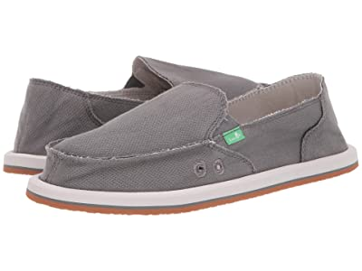 Sanuk Donna Hemp (Charcoal Grey) Women