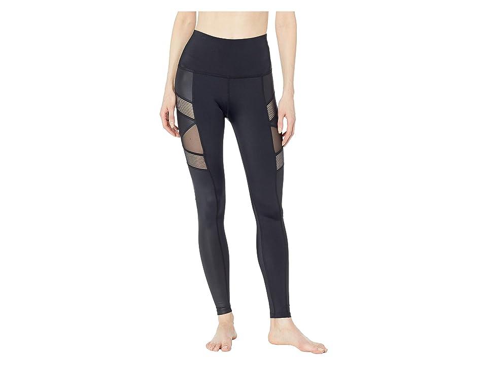 Beyond Yoga Free and Clear High-Waisted Long Leggings (Black) Women