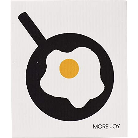 モアジョイ(Morejoy) ふきん オムレツ ソフトクロス 北欧 セルロース エコ 3859