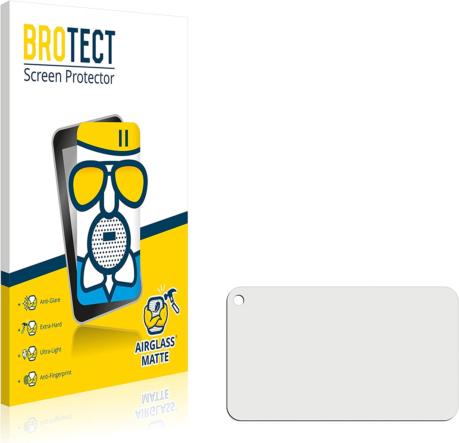 National products BROTECT. AirGlass Matte Glass Screen for Max Al sold out. Protector Ex GoPro