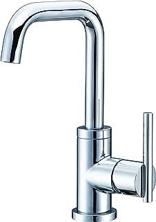 Danze D230558 Parma Single Handle Bathroom Faucet with Metal Touch-Down Drain, Chrome
