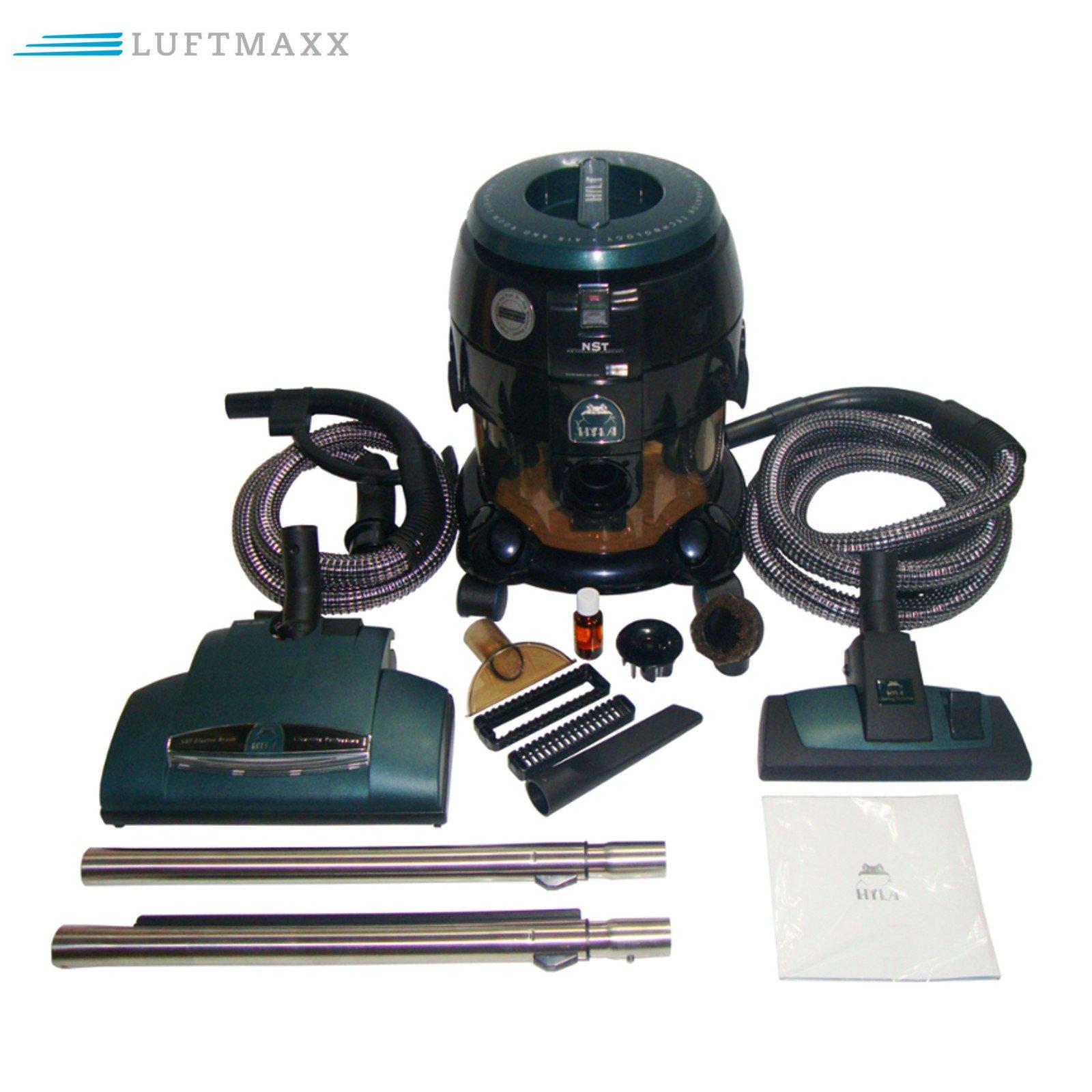Hyla NST aspirador con cepillo eléctrico EBK 340 L con luz agua aspirador de aire y sistema de limpieza de habitación Top Incluye 1 x Aire Maxx aceite aromático: Amazon.es: Hogar