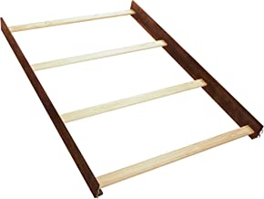 Simmons Kids Full Size Wood Bed Rails, Espresso Truffle