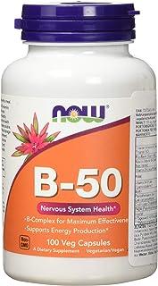 Now Vitamin B-50 mg Veg Capsules - 100 Capsules