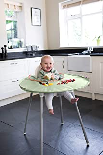 Tidy Tot All-in-One Bib and Tray Kit. Sage Green. Unisex. One Size fits 6 Months – 2 Years. Award Winning Weaning Aid.