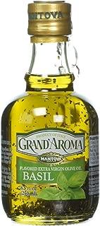 Mantova Grand' Aroma Basil flavored Extra Virgin Olive Oil, 8.5 Ounce