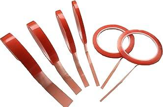 Dubbelzijdig plakband – 0,2 mm acryl lijm dun – extra sterk hechtend/klevend – dubbele band sticky tape doorzichtig 3 mm 5...