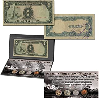 Pearl Harbor and Japanese Invasion Coin & Currency Collection
