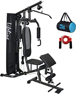 Lifeline Home Gym Deluxe with Cover & Preacher Curl (HG-005)