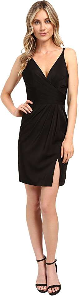 Faviana Chiffon V-Neck w/ Full Skirt 7850