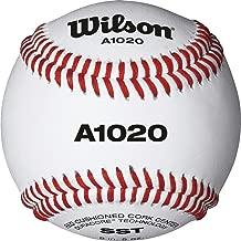 Wilson A1020 Championship Series Baseball (12-Pack), White