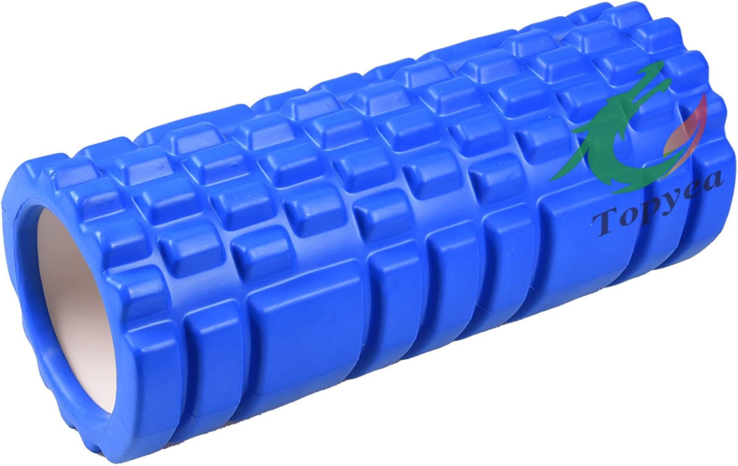 Yoga Roller, Fitness EVA Yoga Roller,Hollow Exercise Yoga Foam Roller for Physiotherapy Massage Pilates Tight Muscles