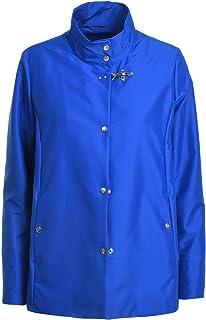 Luxury Fashion | Fay Women NAW12403350AXXU816 Blue Polyester Outerwear Jacket | Spring-summer 20