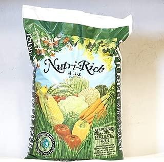 Nutri-Rich 4-3-2 Organic Fertilizer 20 lbs.