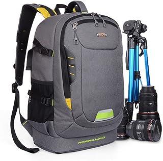 YuHan Oxford stor kapacitet vattentät stötsäker SLR/DSLR pryl kameraväska professionell utrustning fotografi reseryggsäck ...