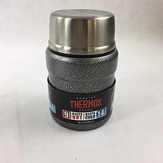 Thermos 453.59 毫升特大食品罐带折叠勺(颜色随机)