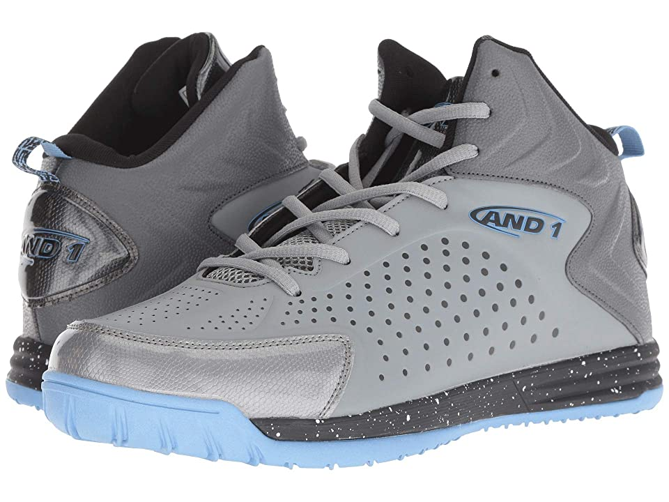 AND1 Tipoff (Alloy/Castle Rock/Dusk Blue) Men