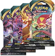 Pokemon Sword and Shield Darkness Ablaze: 8 Sleeved Booster Packs