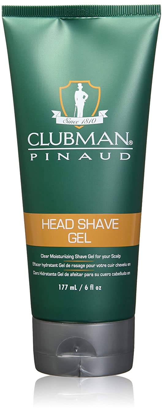 クロール静める候補者CLUBMAN Head Shave Gel (並行輸入品)