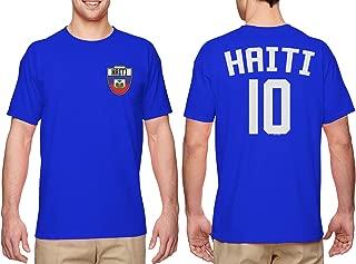 HAASE UNLIMITED Haiti Futbol Jersey - Haitian Men's T-Shirt