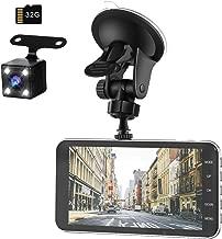 【令和モデル】 前後カメラ ドライブレコーダー 32GB SDカード付き デュアルドライブレコーダー1080PフルHD 1800万画素 LEDライト付き 170°広視野角 SONYセンサー/レンズ 常時録画 G-sensor( WDR)日本語説明書付き