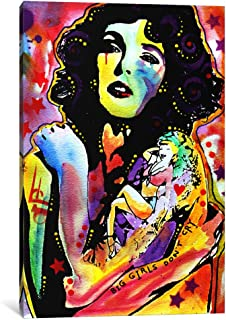 iCanvasART 1-Piece Big Girls Don't Cry Canvas Print by Dean Russo, 1.5 by 18 by 12-Inch