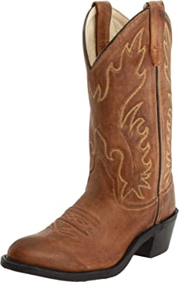 J Toe Western Boot (Big Kid)
