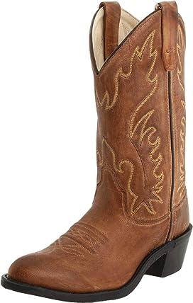 J Toe Western Boot (Big Kid)