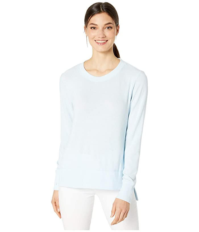ALO Glimpse Long Sleeve Top (Powder Blue) Women