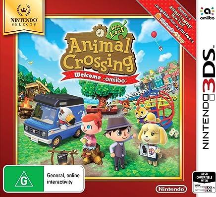 Animal Crossing New Leaf Welcome amiibo (Nintendo Selects)