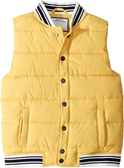 Yellow Puffer Vest (Toddler/Little Kids/Big Kids)
