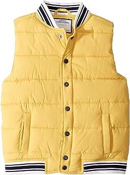 Yellow Puffer Vest (Toddler/Little Kids/Big Kids)