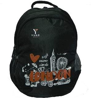 YUKO BAGS Black 32L Casual Bagpack/School Bag Backpack/Backpack (Black)