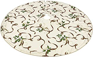 Lenox Holiday Nouveau Ribbon Tree Skirt 60