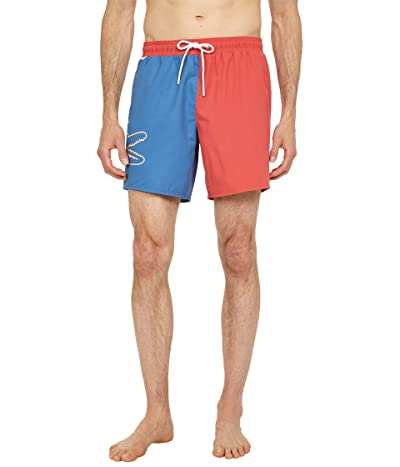 Lacoste Swim Trunks with Large Croc on Side