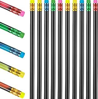 مداد تعویض رنگ 30 قطعه مداد رنگی 2B مداد رنگی ترموکرومیک با پاک کن برای دانش آموزان هدیه (پایه سیاه)