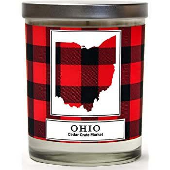Homesick HSCA1-EAS-CC-WH01 East Lansing Candle