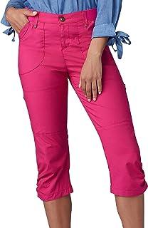 Lee womens Flex-To-Go Relaxed Fit Zipper Pocket Capri Pant Pants