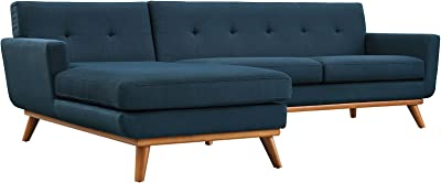 Amazon.com: Porter Designs U7777 Casper Tufted Sofa: Kitchen ...