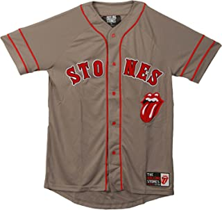Men's Gry Baseball Jersey Grey