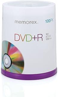 Memorex DVD plus R 16x 4.7GB 100 Pack Spindle