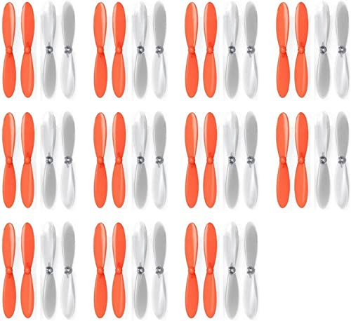 11 x Quantity of Estes Dart Orange Clear Propeller Blades Props Propellers Transparent - FAST FREE SHIPPING FROM Orlando, Florida USA