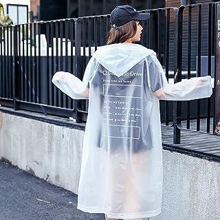 C&L レインコート、カップルレインコートファッションレインコート透明レインコートレディースジャケットファッションメンズアウトドアウォーキングポータブルレインコートポンチョ (色 : E, サイズ さいず : S s)