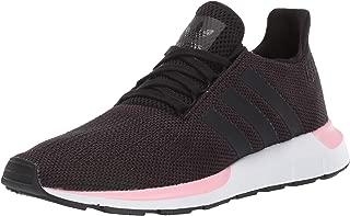 adidas Originals Women's Swift Running Shoe, Black/True Pink, 10.5 M US